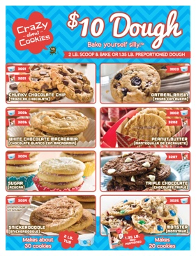 Crazy About Cookies - $10